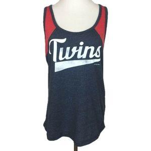 Minnesota Twins Tank Top Sleeveless Scoop Neck L
